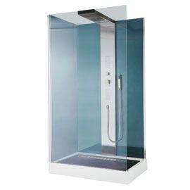 Cabine de douche hydromassante Welle 120 x 80 cm