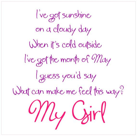 Baby Girl Nursery Wall Lettering My Girl by FraidyCatSentiments, $22.00
