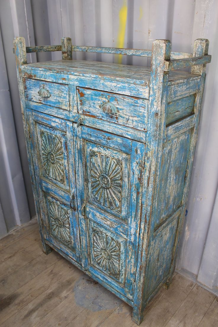 Original, Tall Cabinet from Rajasthan