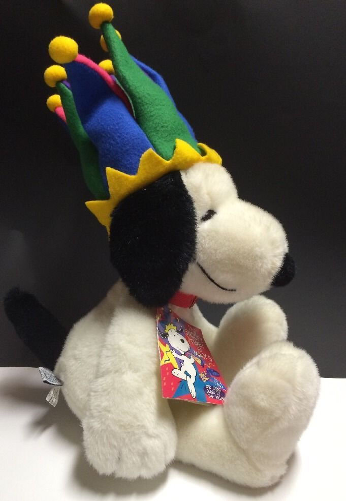 "Peanuts Snoopy Millennium 24"" Plush Hat Macy's Limited Edition 1999 W/Tag    eBay"