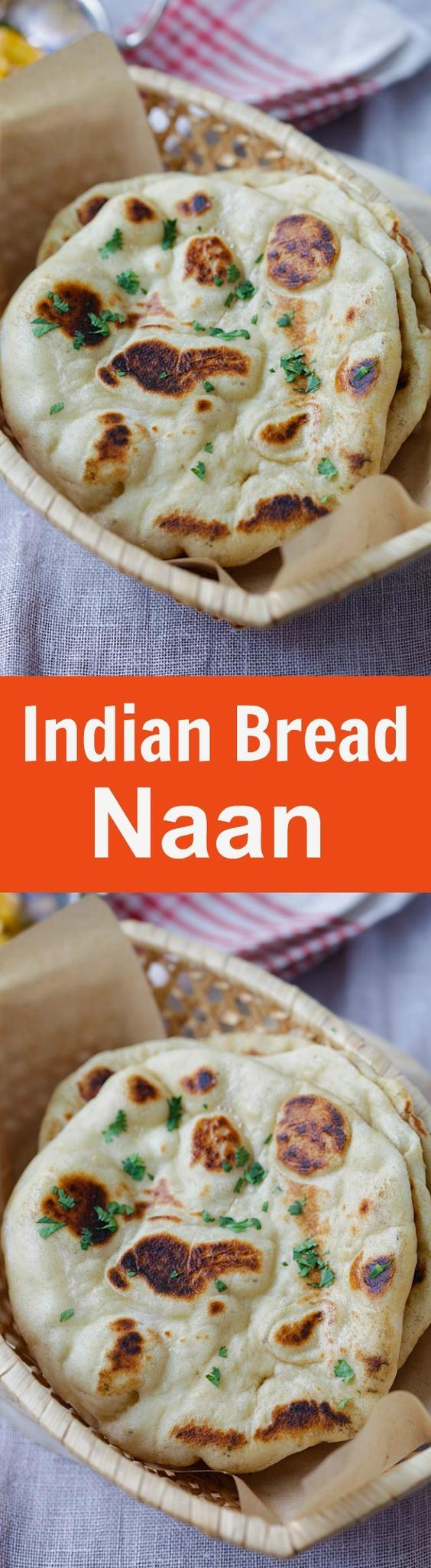 Naan - the easiest homemade Indian naan recipe that you can make on skillet. Fluff and soft naan that tastes like Indian restaurants | rasamalaysia.com