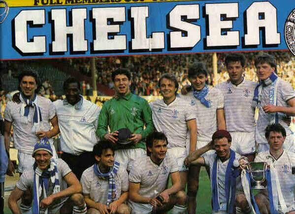 1986 Full Members Cup Winners: CHELSEA