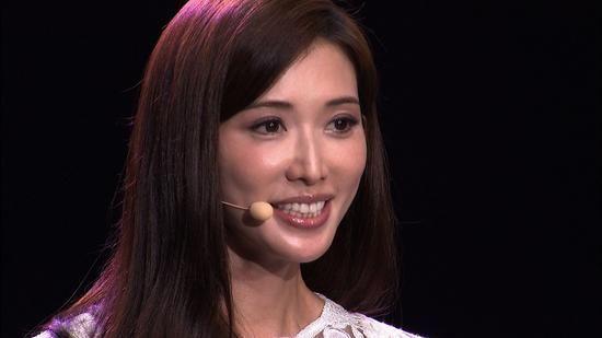 消失的星際樂園: 林志玲上台精彩演講