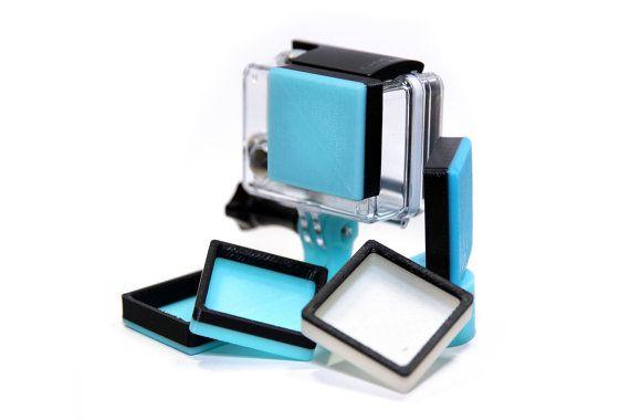GoPro Case Lens Cover by THR33DPrintShop on Etsy