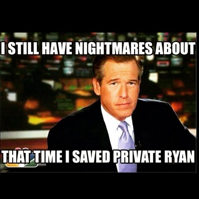 Funniest Memes of NBC's Brian Williams for lying on Iraq War ...