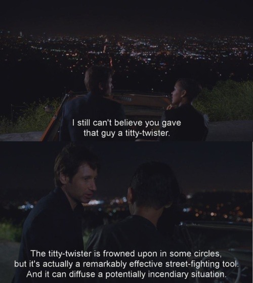 the great Hank Moody ::: Californication #quotes