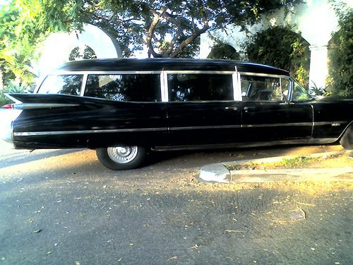 1959 chopped cadillac hearse | Hearse,Thats All !!!!!