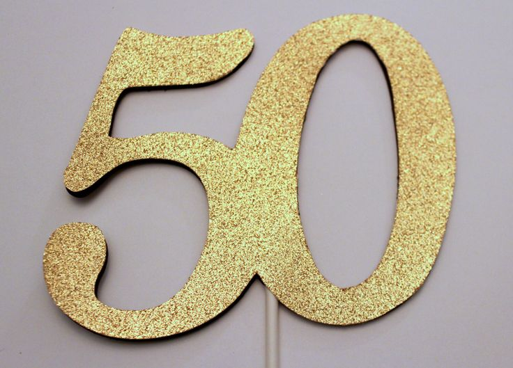 Best 25 50th birthday cake toppers ideas on Pinterest 50th