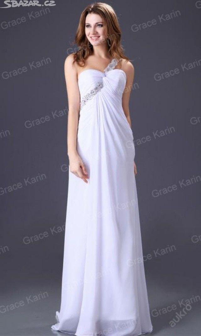 bílé šaty - obrázek číslo 1