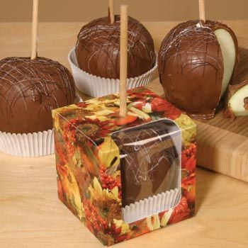 Fall october wedding idea for party favors!! ~ Boxes