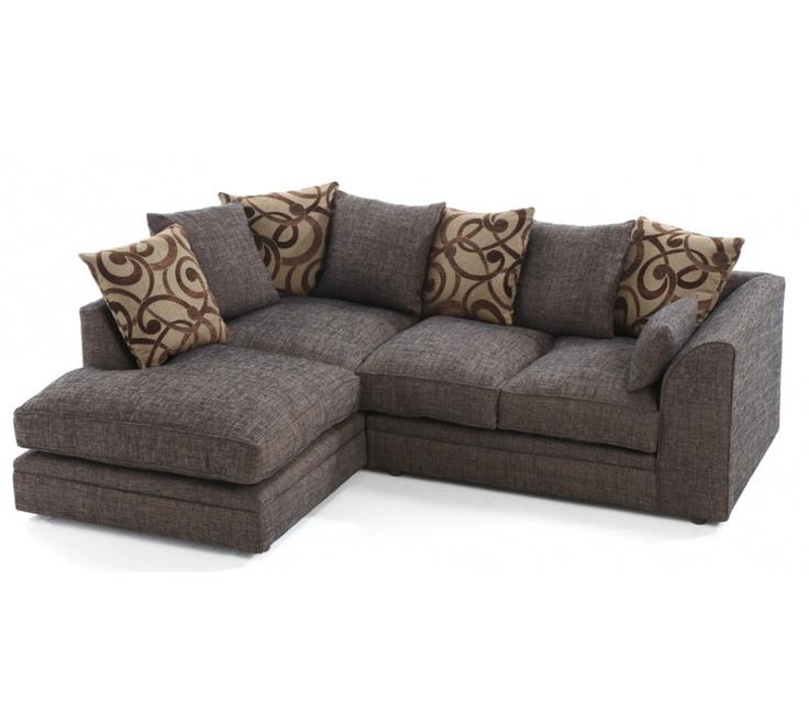 Fabric Corner Sofa, Look Good On Living