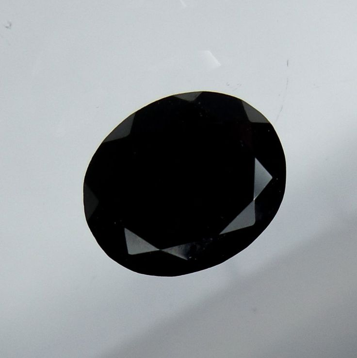 9x11 MM Natural Faceted Black Spinel Oval Shape Calebrated Size Loose Gemstone  #Unbranded