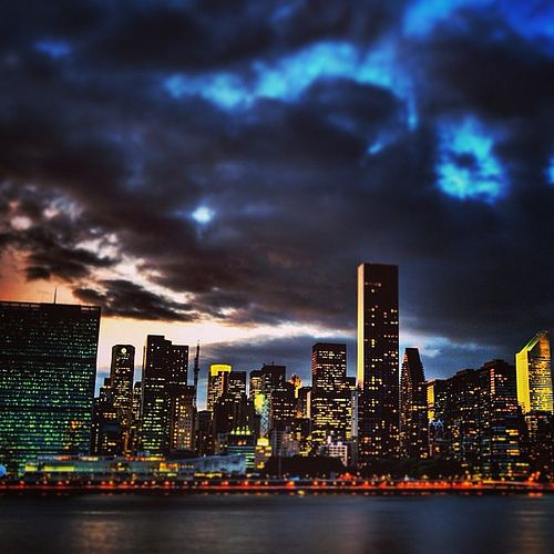 #new #york #city by #night #remember #this #amazing #holidays #love #summer and #like #america #usa #beautiful