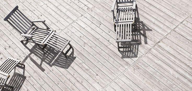 Allt trä utomhus som fasadpanel, altandäck, trädgårdsmöbler och staket måste…