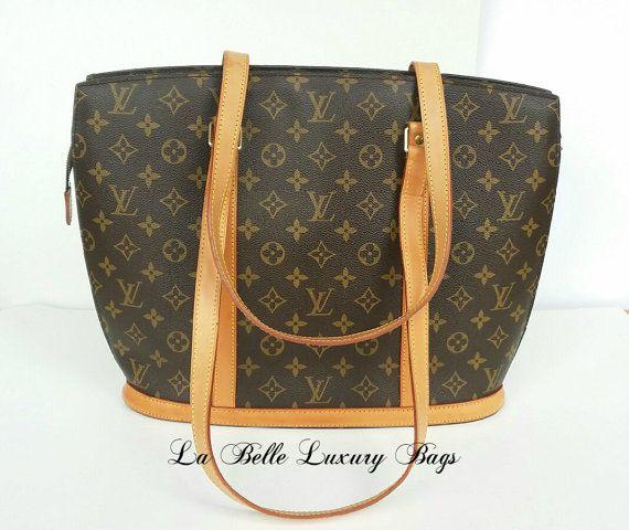 AUTHENTIQUE Louis Vuitton Babylone monogramme épaule fourre-tout sac à main-Louis Vuitton Sac