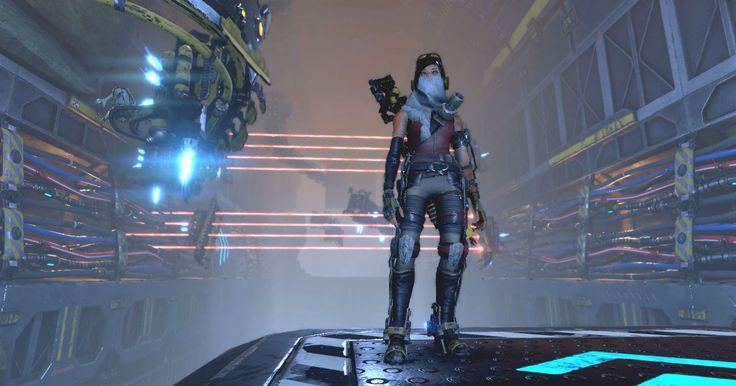 Joule Adams / RECORE (PC & Xbox One) #RECORE #XboxOne #GC #Gamescom #GCXbox #Games #VideoGames #RecoreGame #Inafaune #Corebots #JouleAdams #Mack #Seth #Duncan #Windows10 #PCGame #FarEden