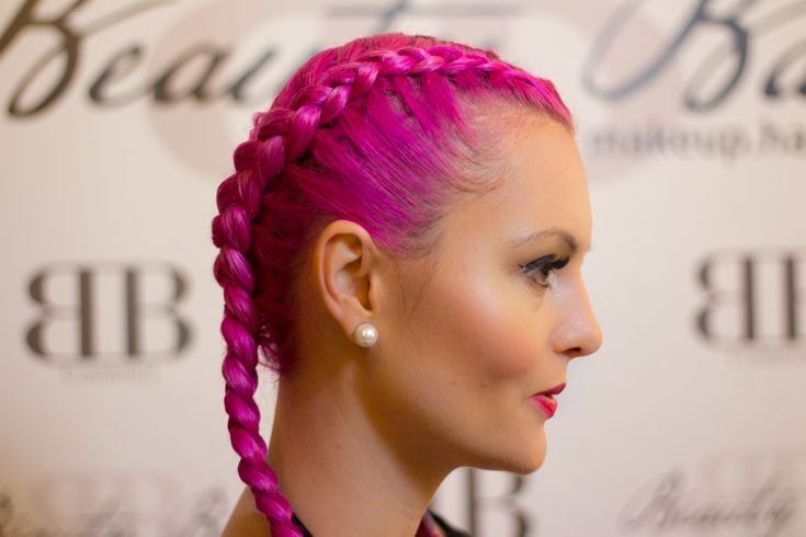 Hairstyle, pink hair, braids, pigtails, copánky, long hair. Read more about how to take care of your braids >>> http://justbestylish.com/how-to-take-care-of-braids/