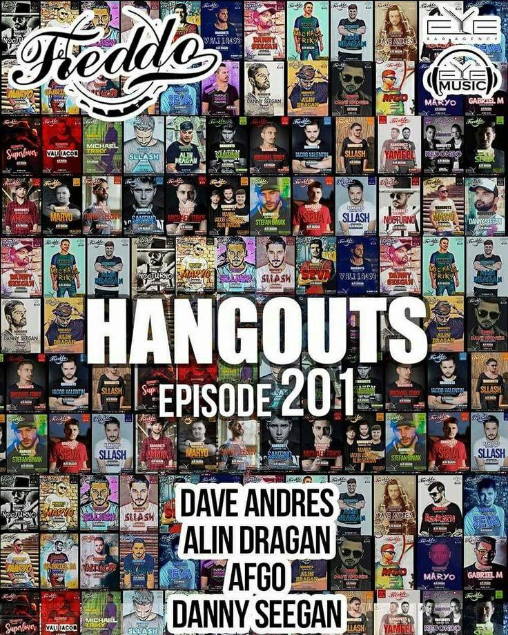 Monday, 10 July, HANGOUTS Anniversary Ep.201 with Dj. Dave Andres, Dj. Alin Dragan, Dj. AFGO, Dj. Danny Seegan at Freddo Bar & Lounge. 🔝🎧🍾👌👏👏👏 #HANGOUTS #Anniversary #EyeMusic #EyeBarAgency #Ep201 #Dj #DaveAndres #AlinDragan #AFGO #DannySeegan #AndreiVanea #RazvanGarcea #Freddo