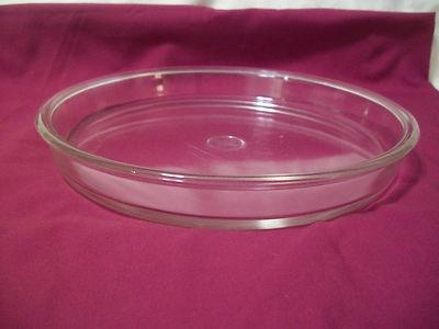 Vintage Pyrex Clear Glass Pie Tart Flan Pan 9 Quot Flan