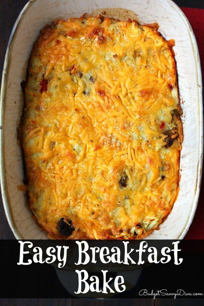 Easy Breakfast Bake | Recipe | Breakfast bake and Sausages
