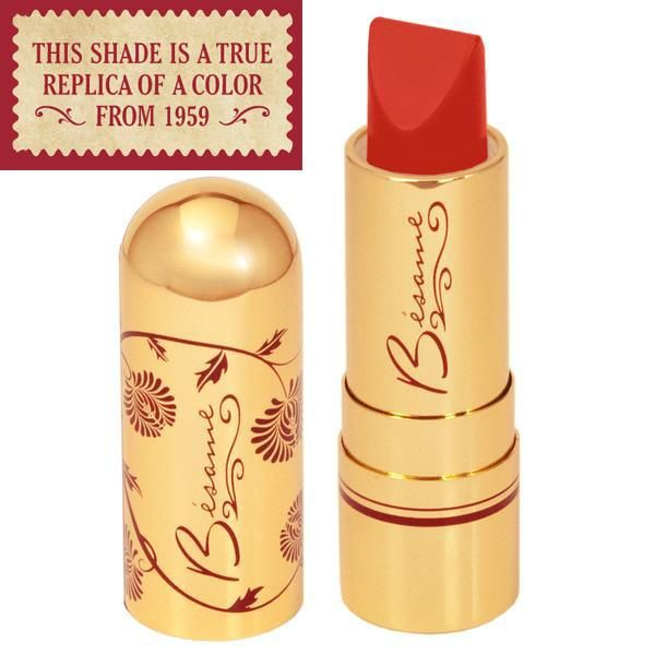 Marilyn Monroe's favorite. A bold and brazen warm red. A semi-matte finish with one coat full coverage. The highest natural pigment content for a smooth, indelible, feather-proof finish. Enriched with squalene, vitamin C and aloe. Our vintage reproduction reds are the exact shades used by your favorite Hollywood starlets. Also available at Sephora.com Clickhere to purchase.