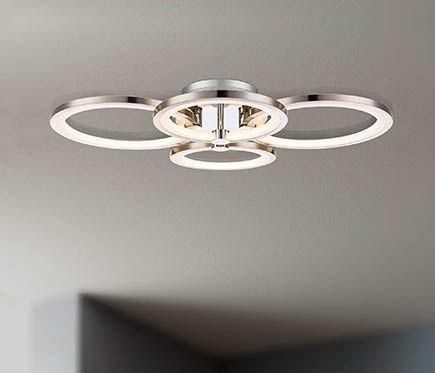 Plafón 4 luces Surrey LED