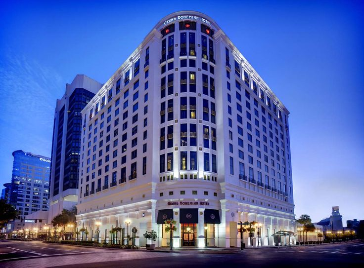Stay at the Grand Bohemian after a night out at the theater! #arts4everylife #downtownorlando