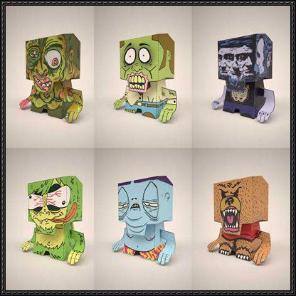 images about CubeCraft Papercraft download