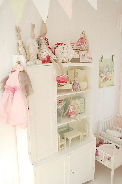 Girls Bedroom Love The Use Of Furniture As Dollhouse And All The Maileg Goodies