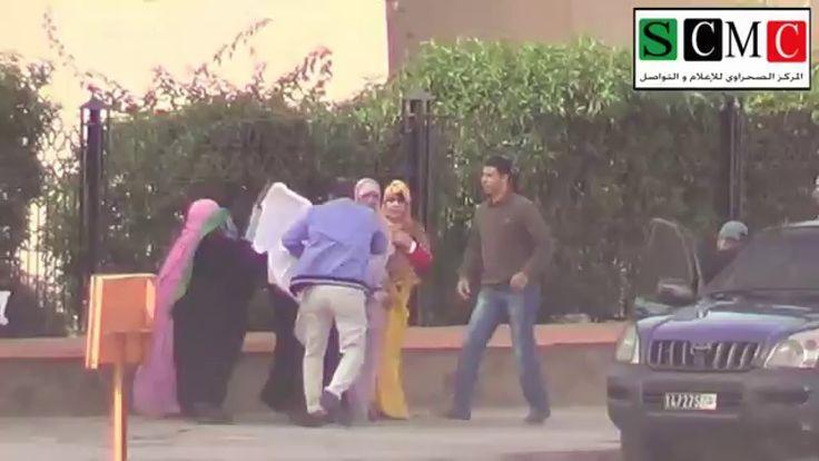 التدخل الذي طال أمهات المختطفين الصحراويين 15بمناسبة الذكري العاشرة بالع...