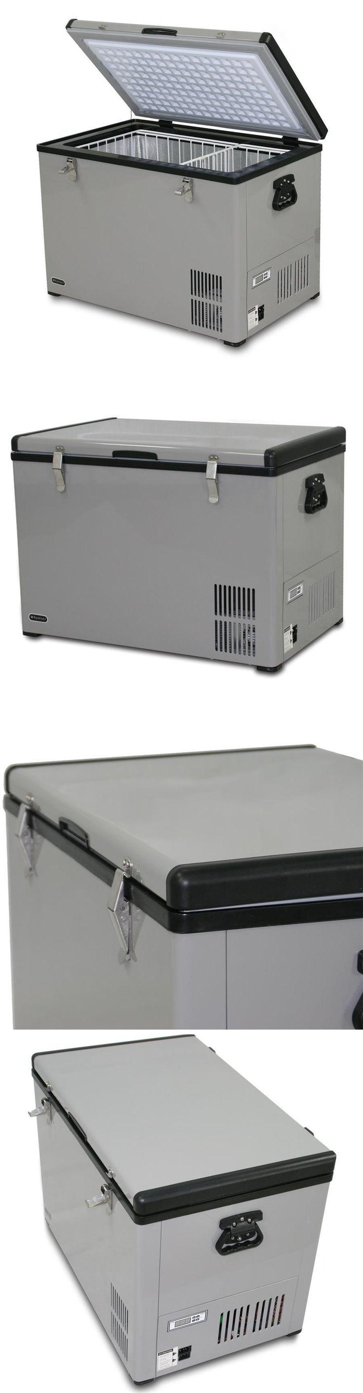 Mini Fridges 71262: New!! Whynter Fm-85G Compact Fridge Freezer 85 Qt Portable Refrigerator 12 110 -> BUY IT NOW ONLY: $499.99 on eBay!