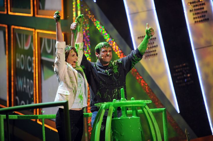 Steve Carell Slimed ►KCAs 2007