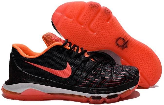Nike KD 8 Red White Black Shoes