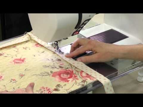 Quilt-Binding Tutorial + Video Preview of the Autumn 2013 issue of Quilter's World magazine. Order a digital copy here: http://www.anniescatalog.com/detail.html?prod_id=102562