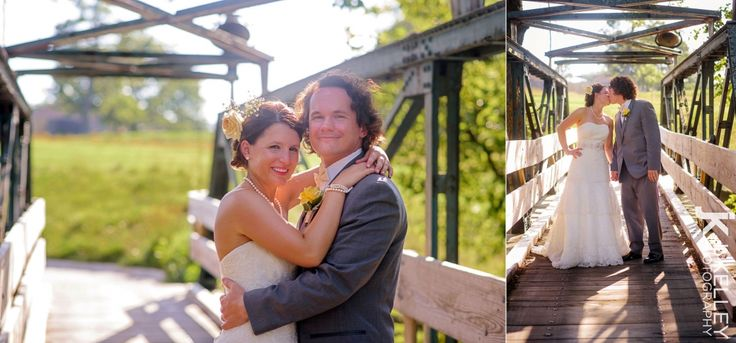 Old bridge photo ideas in Columbia MO, rustic wedding photography, natural light photography, Columbia Country Club