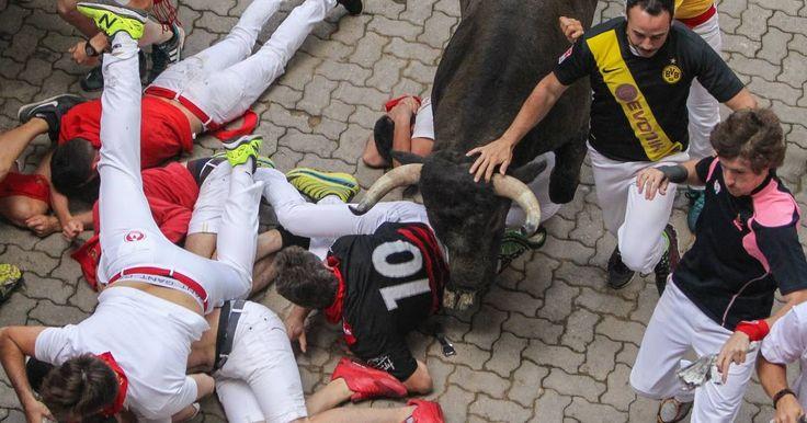 SANFERMINES    Segundo encierro de San Fermín 2017    Sigue en directo el encierro de sanfermines de la ganadería José Escolar Gil   ...