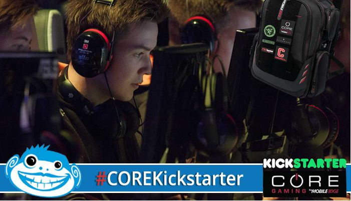 CORE Gaming Backpack by Mobile Edge: Good for Game Time, Go Time & Guaranteed for a Lifetime