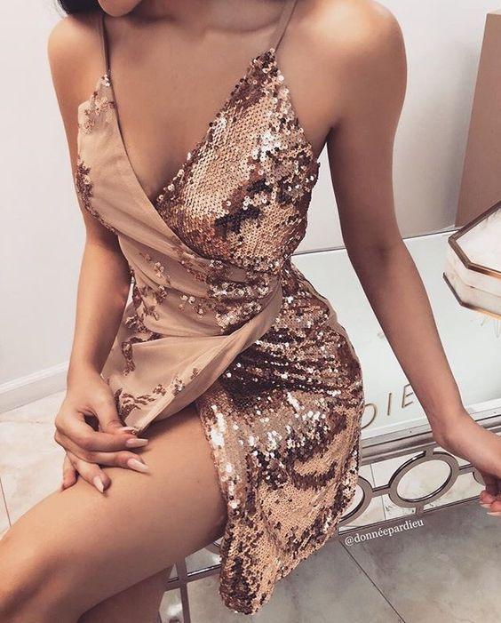 10 vestidos cortos que te harán ver más delgada en las fiestas