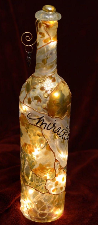 Crafts Using Wine Bottles Lights