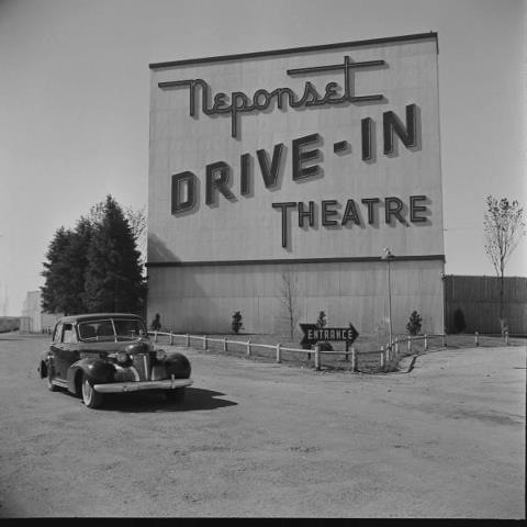 Neponset Drive-In Theater--I love drive in theaters...we need more.