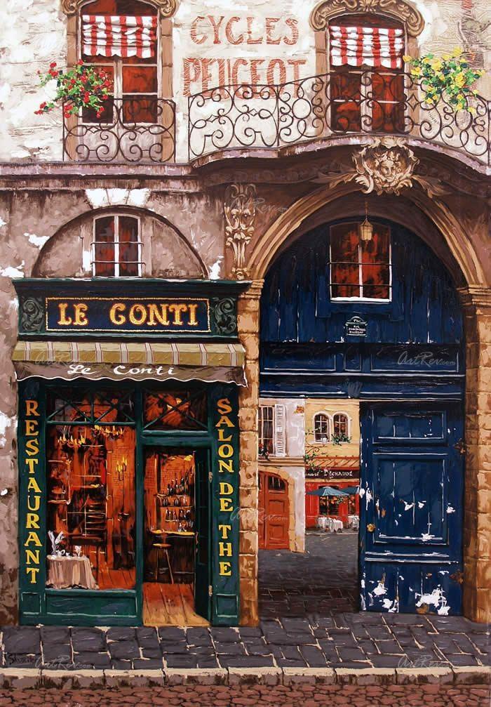 229 best paris shops cafes images on pinterest paris - Le petit zinc rouen ...