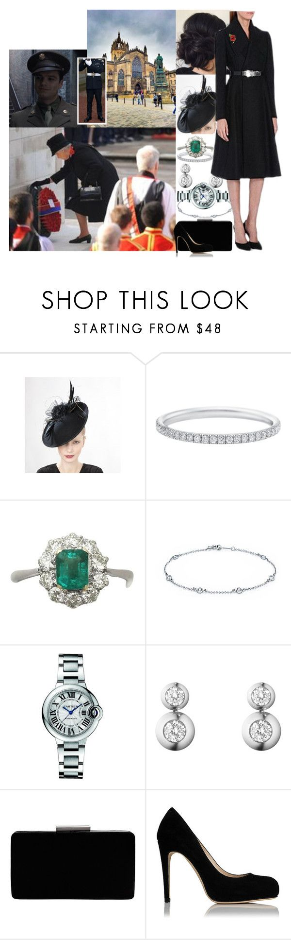 """Attending a service at St Giles on Remembrance Sunday and lying a wreath at the cenotaph"" by maryofscotland ❤ liked on Polyvore featuring Sebastian Professional, Elsa Peretti, Cartier, Georg Jensen, John Lewis and Alexander McQueen"