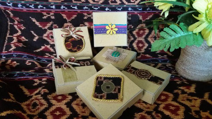 Gift Box made of ikat NTT