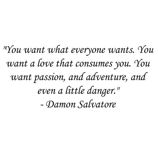 Damon Salvatore Quote