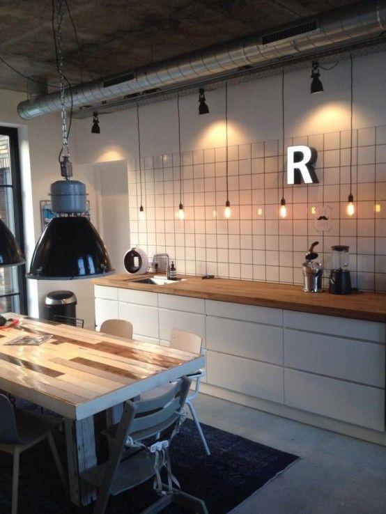25 beste idee n over hangende keuken verlichting op pinterest verlichting groene keuken. Black Bedroom Furniture Sets. Home Design Ideas