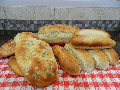 Receta de pan de lomitos y panchos casero | Recetas para cocinar