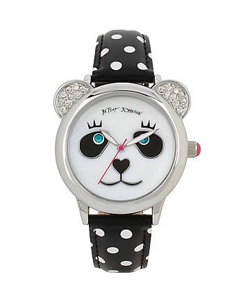 BETSEYS HOLIDAY PERFECT PANDA WATCH