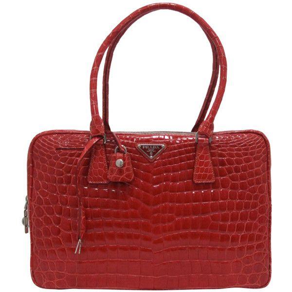 Prada. Structured HandbagsShoulder ...