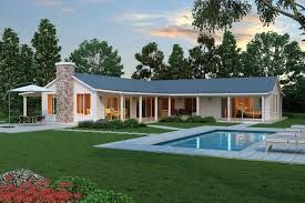 Image result for contemporary single level L-shaped home designs south africa