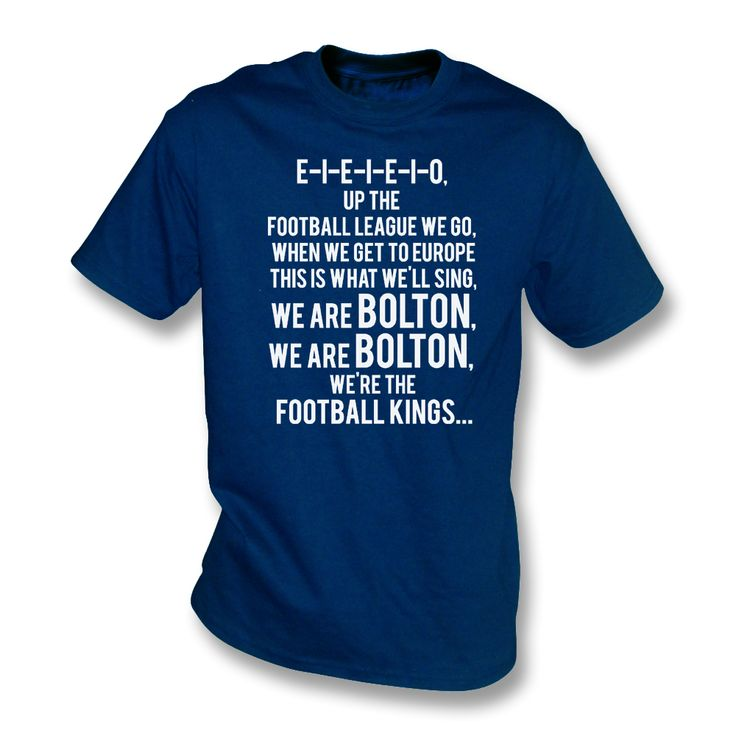 Up The Football League We Go (Bolton Wanderers Chant)